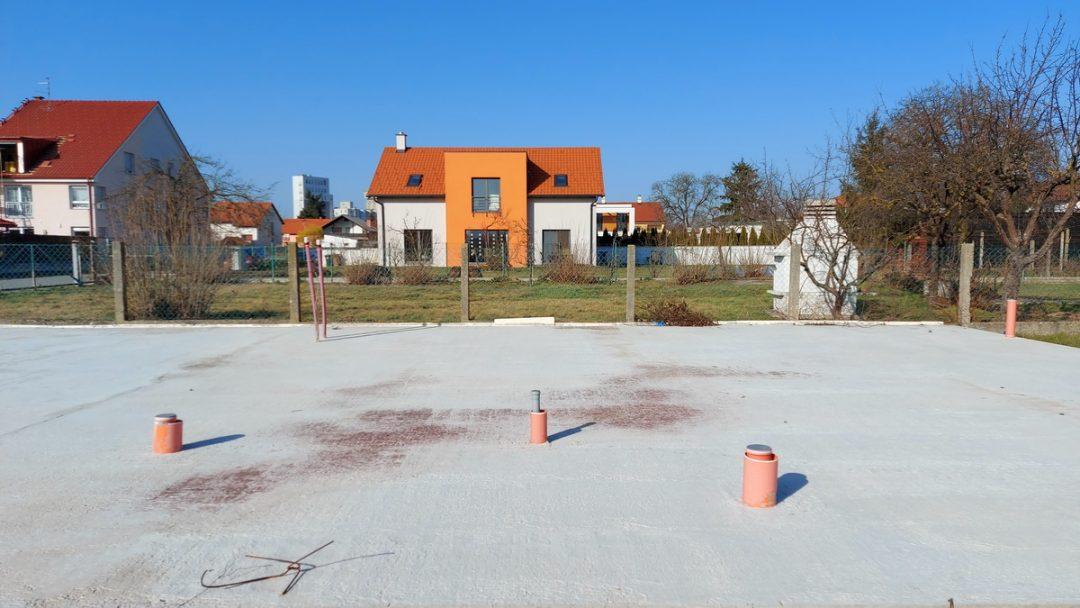 Izgradnja temelja za montažnu kuću Horvat-Novak, Čakovec